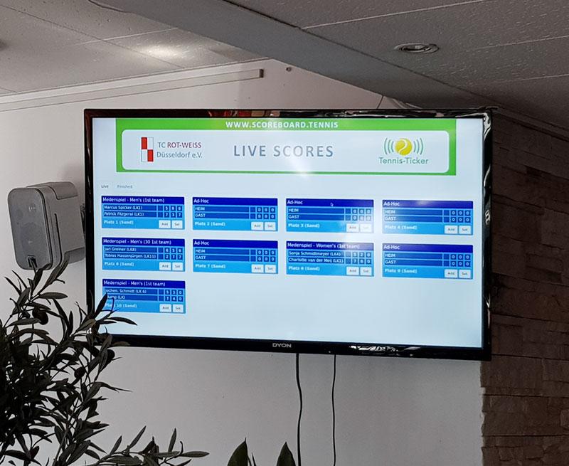 Scoreboards – Tennis-Ticker