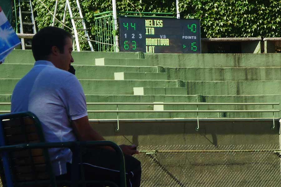 Ticker Tennis